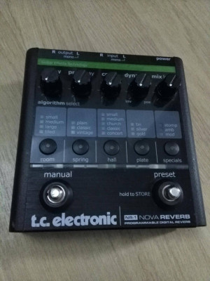 Pedal reverb t.c.electronic