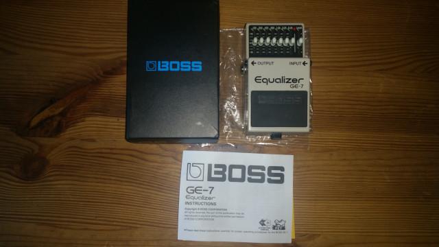Boss ge7 equalizador / Nuevo