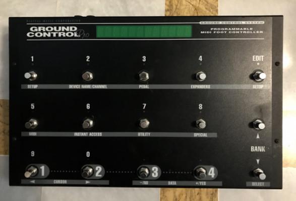 Ground Control Pro pedalera midi