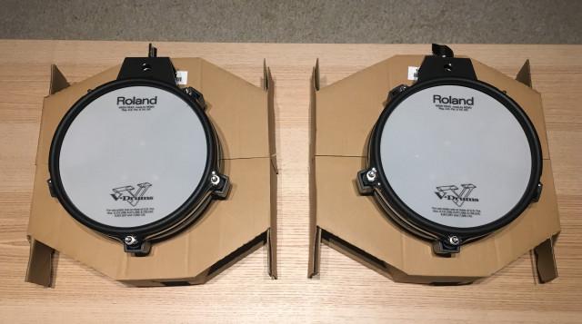 Pads Roland V-Drums PD-85BK