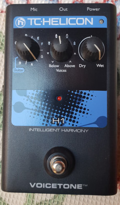 PEDAL - tc helicon intelligent harmony