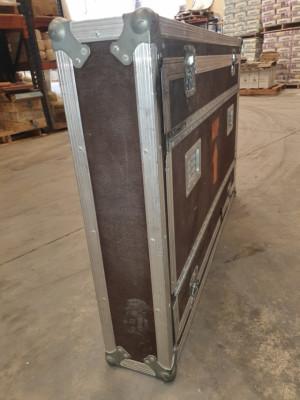 Flightcase transportar monitor