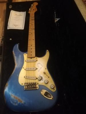 Fender stratocaster Relyc'56 LPB edición limitada, Namm