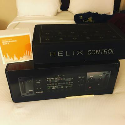 Line 6 Helix Rack + Control (o cambio por Kemper)