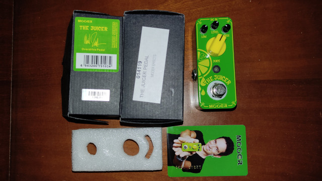 Pedal overdrive mooer the juicer