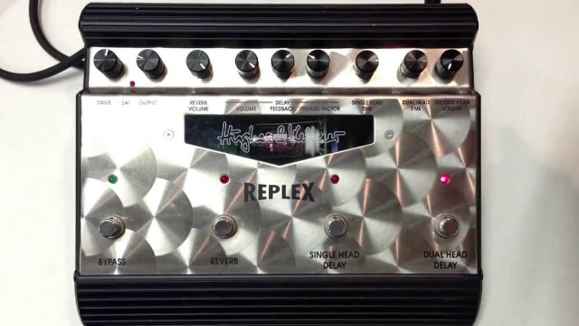 Pedal Hughes & Kettner REPLEX - black leg!!