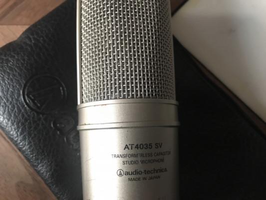 Micrófono Audio Technica AT4035 SV  (4050 cardioide)RESERVADO