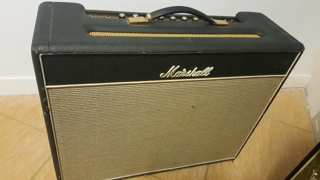 MARSHALL JTM45 1962 BLUESBREAKER DE 1993 + GREENBACK 1971!!