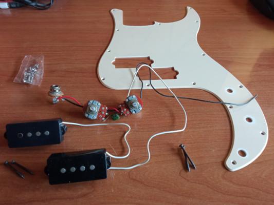 Pastillas Bajo Precission + Electrónica completa + Golpeador