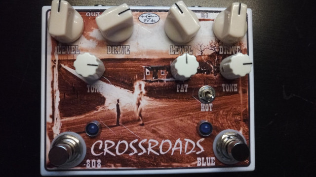"Doble Overdrive boutique ""Crossroads: TS808 y Blue Note en uno!"