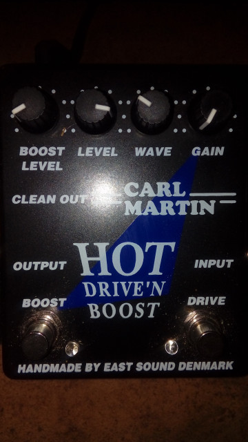 carl martin hot drive'n boost MK1