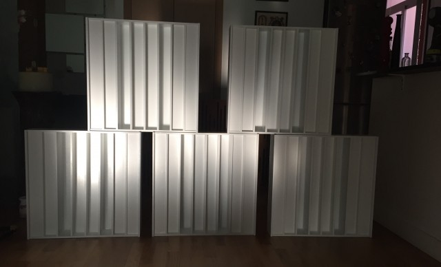 Difusores QRD 600x600x110mm