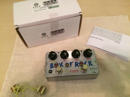 ZVEX BOX OF ROCK Vexter series. Envío incluido