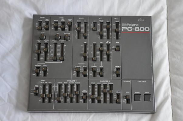 Editor Roland PG-800