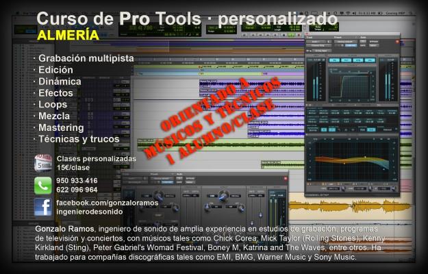 Curso de Pro Tools · personalizado