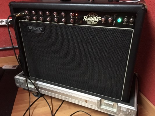 o Cambio Mesa Boogie Dual Rectifier Trem-o-verb