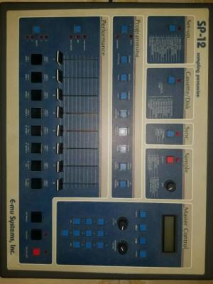 Sampler 12 bits Emu SP 12 Turbo