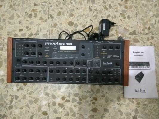 o cambio Prophet 08 PE Rack con caja y manual