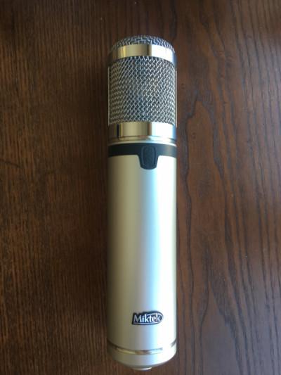 MIKTEK CV4 Micrófonos condensador a válvulas.