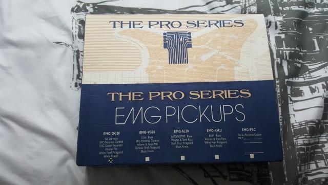 Vendo set EMG DG-20 (David Gilmour)
