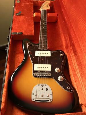 Fender Jazzmaster Avri 65 con Mastery Bridge Impoluta