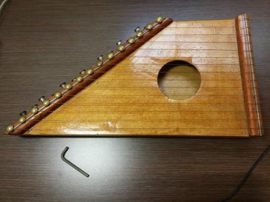 HARPA-CÍTARA de madera