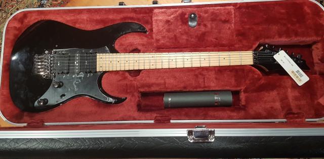 Guitarra Ibanez Prestige Rg1550 Mz-Bk- A ESTRENAR!!!