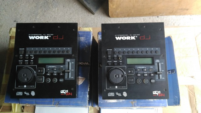 2 CDS PROFESIONALES WORK 104