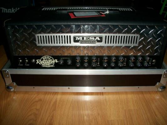 Mesa Boogie Dual Rectifier 3 canales + Pantalla Rectifier+Case