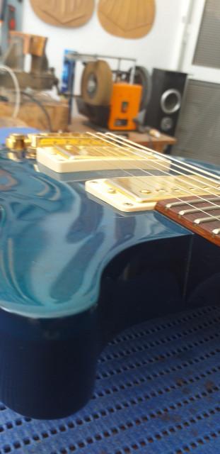 Gibson Les paul dc cambios