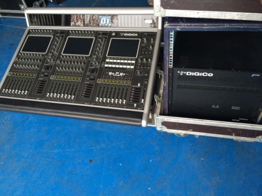 2 Digico D1 LIVE + stage rack