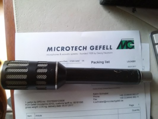 Microtech Gefell  PM750