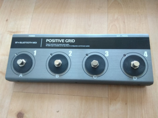 Pedal BT 4 BLUE TOOTH MIDI DE POSITIVE GRID