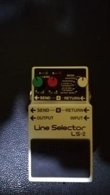 pedal Boss LS-2 line selector