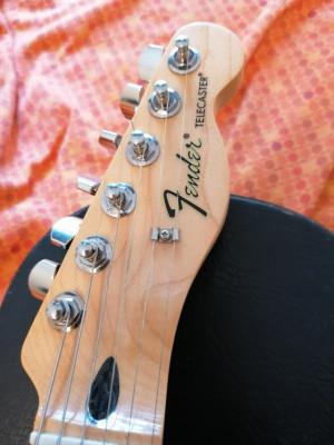 Fender telecaster standar mexico blanca