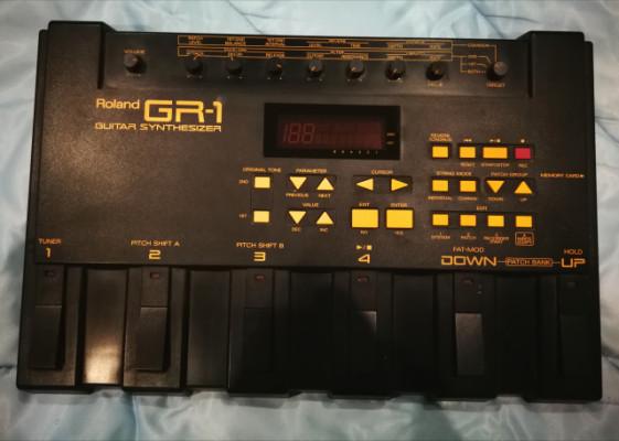 Pedalera módulo MIDI para guitarra Roland gr1