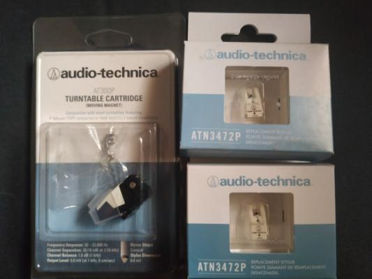 Audio-Technica AT311EP + 2 agujas Audio technica atn3472p
