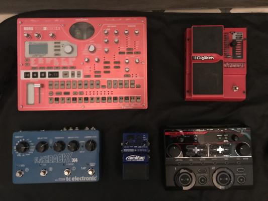 Surtido de Pedales y Efectos para Guitarra / Instrumentos Electrónicos (Boss, TC Electronics, Digitech, Strymon, Korg El