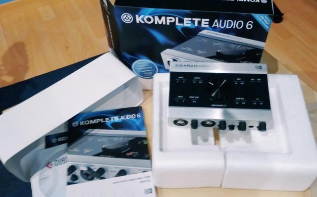 Tarjeta NI komplete Audio 6