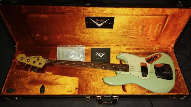 Fender Jazz bass ´64 Custom Shop