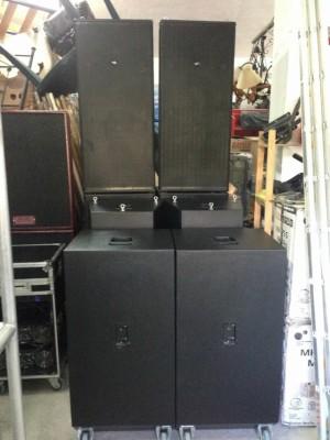 Equipo de sonido electronica y componentes das audio rf215.96