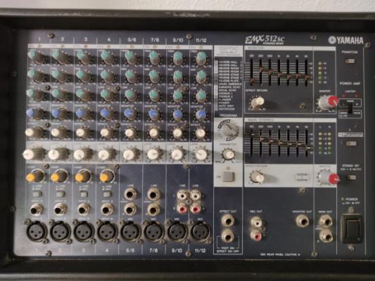 Mezclador Yamaha EMX512SC
