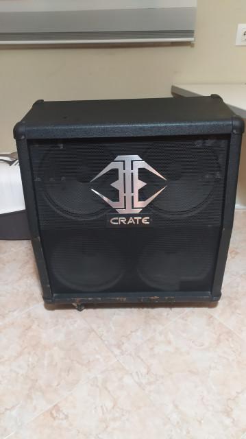 Pantalla crate 4x12. 100w. 8ohm