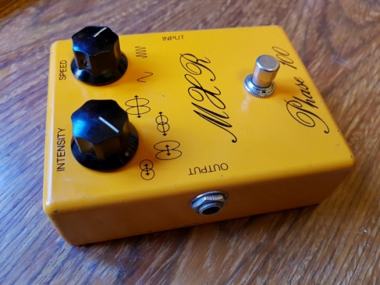 MXR Phase 100 de 1977 o cambio por Xotic RC Booster