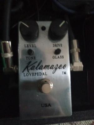 Lovepedal Kalamazoo Silver Overdrive