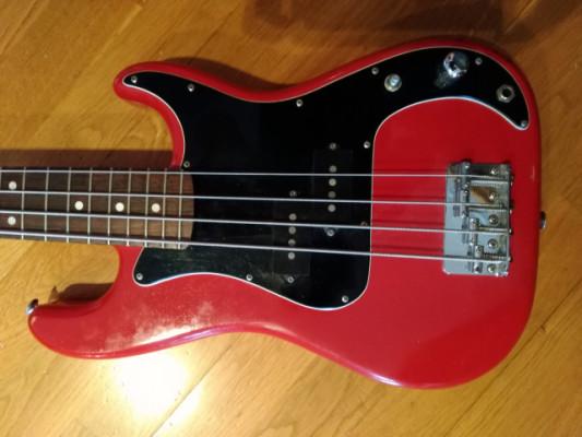 Bajo eléctrico Luthier. Mini bass