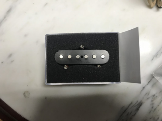 Pastilla Fender. Noisseles (Telecaster)