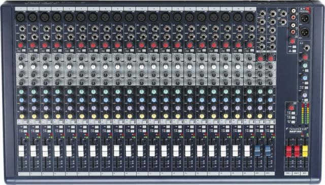 Soundcraft MPMi 22ch. Mixer/Mesa de mezclas