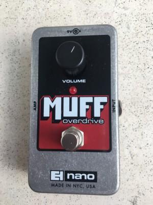 Muff overdrive nano ehx