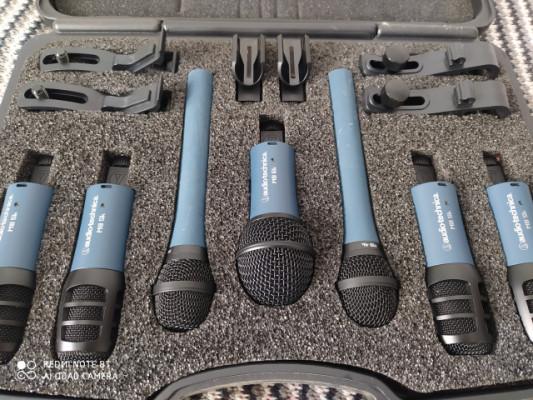 Audio technica mbdk7 set de micros batería.